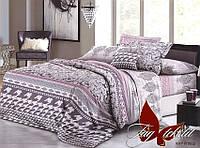 Семейный размер, постельное белье семейное, постель для семьи, ткань поликоттон, XHY1602