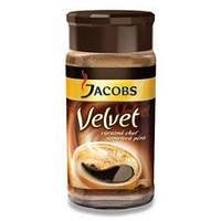 Кофе растворимый Jacobs Velvet (Якобс Вельвет) Чехия 100г