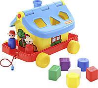 Садовый домик на колесиках в сеточке Polesie 56443