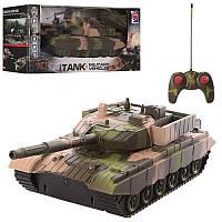 Танк Military Vehicles  на радиоуправлении, вращающаяся башня, звуковые эффекты