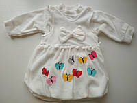 Детский белый сарафан с кофтой, фото 1