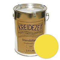 Стандолевая масляная краска полужирная / нижний слой / Standölfarbe Zwischenanstrich gelb, желтая  0,75 l , фото 1