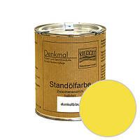 Стандолевая масляная краска полужирная / нижний слой / Standölfarbe Zwischenanstrich gelb, желтая  0,375 l