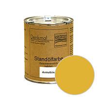 Стандолевая масляная краска полужирная / нижний слой / Schlussanstrich ocker, охра  0,375 l