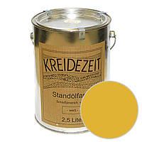 Стандолевая масляная краска полужирная / нижний слой / Standölfarbe Schlussanstrich ocker, охра 0,75 l