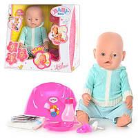 Кукла пупс BB 8001 D Baby Born (пьет, писает, плачет и др.)