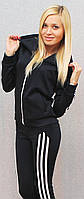 Женский спортивный костюм темно-синий, фото 1