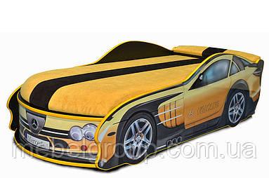 Кровать Мерседес желтая
