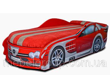Ліжко Мерседес червона