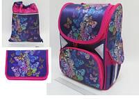 "Набор ранец ортопедический ""Butterfly"" JO-1705 пенал JO-17053 сумка для обуви JO-17051"