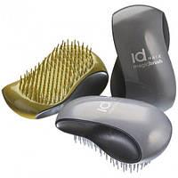 Щетка для щадящего расчесывания волос (мягкая) Magic Brush Silver