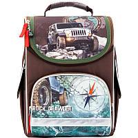 Рюкзак школьный каркасный 501 Rock crawler K17-501S-4 Kite