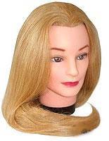 Болванка 60-65 см. блонд темный искусственные волосы NEW YRE