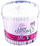 Ватные палочки Lady cotton 200 шт.*