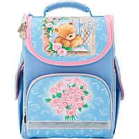 Рюкзак школьный каркасный 501 Popcorn Bear-1 PO17-501S-1 Kite