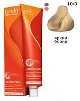 10/0 Очень яркий блондин Londacolor demi permanent 60 мл