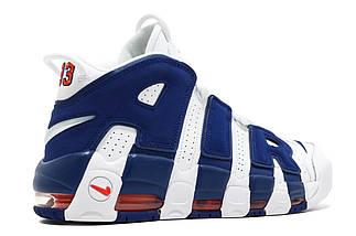 """Мужские кроссовки Nike Air More Uptempo 96 """"Knicks"""", фото 3"""