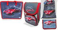 Набор ранец ортопедический JO-1724 пенал JO-17243 сумка для обуви пенал мягкий  + сумка с ручками