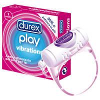 Кольцо на пенис с вибрацией Durex Play Vibrations