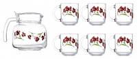 Сервиз чайный LUMINARC ANTHIA 6491N (7 пр)
