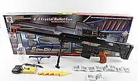 Снайперская винтовка аккумуляторе  K1B (1483940)  водные пули поролоновые снаряды,  в коробке 82*6, 5*30 см.