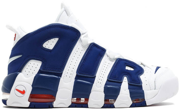 """Мужские кроссовки Nike Air More Uptempo 96 """"Knicks"""", фото 2"""