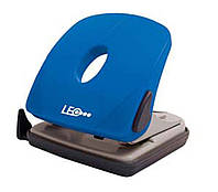 Дырокол 25 листов пластик  L1424-04 синий ТМ LEO