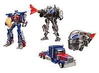 Набор Оптимус Прайм и Кибертрон Transformers 5 Cybertron and Deluxe Optimus Prime, Оригинал из США