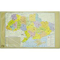 """Подложка для стола """"Карта Украины"""", 60*36,5 см L5823"""