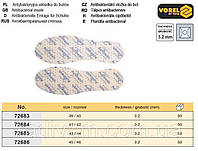 Стельки для обуви VOREL антибактериальные с размером 43/44 h=3.2 мм  72685