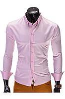 Мужская Рубашка R219 (размер XL) SALE Розовый, XL