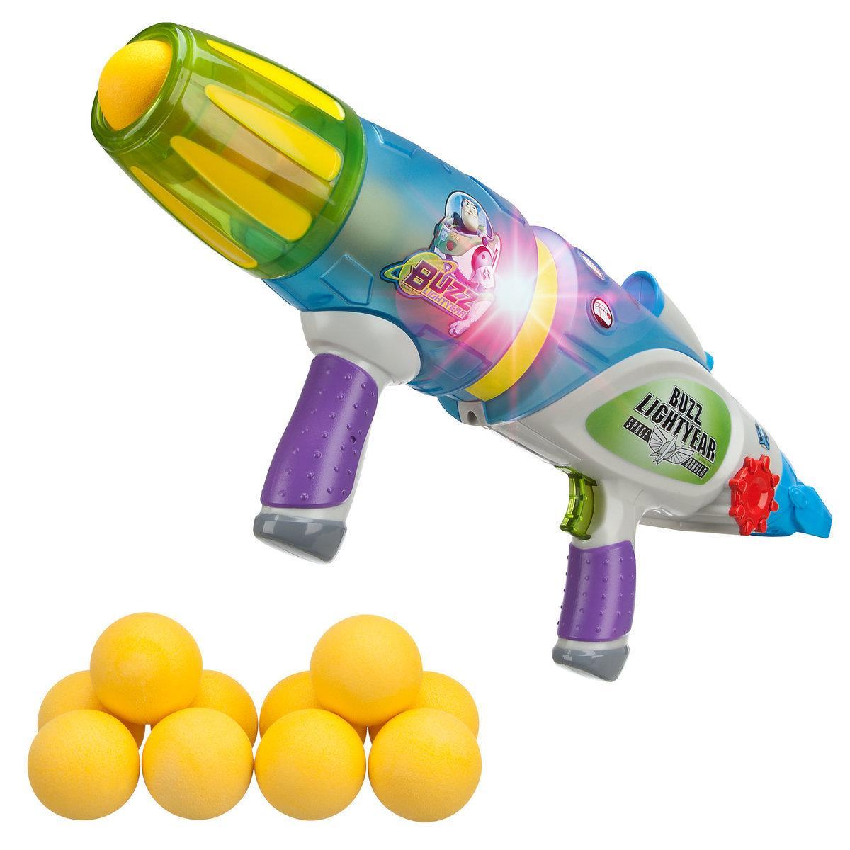 Бластер звук, свет, шарики светятся в темноте Buzz Lightyear Glow-in-the-Dark Blaster Disney из США