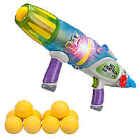Бластер звук, свет, шарики светятся в темноте Buzz Lightyear Glow-in-the-Dark Blaster Disney из США, фото 1