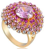 """Кольцо-перстень """"Розовый рассвет"""""""