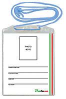 Бейдж вертикальный на шнурке D1108 ТМ Datum