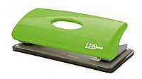 Дырокол  6 листов пластик салатовый  L1417-09 ТМ LEO