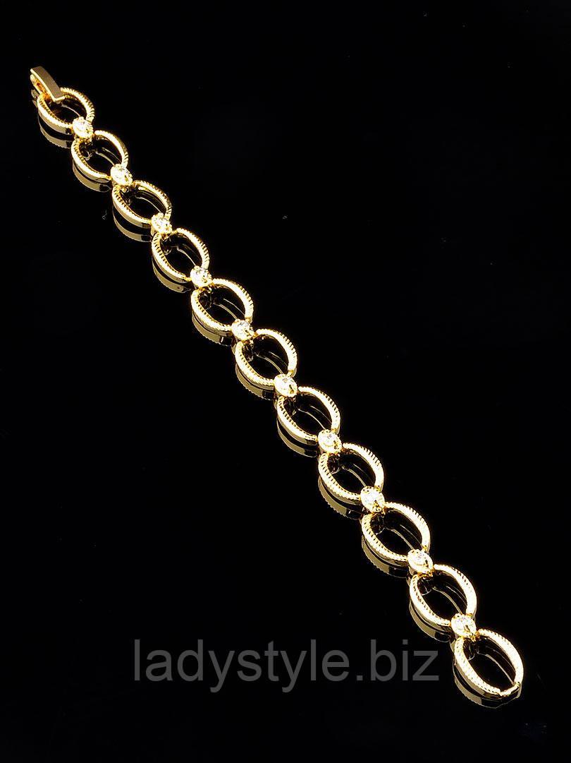 """Интересный  позолоченный браслет   """"Корабельный"""" от студии LadyStyle.Biz"""
