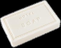 Мыло прямоугольное 15 гр, натуральное, антибактериальное для гостиниц