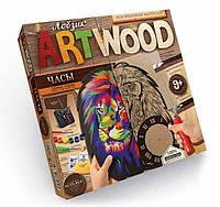 """Настінний годинник - випилювання лобзиком """"ART WOOD"""" (ас./5), арт. 5909 (LBZ-01-01/05), Danko Toys"""
