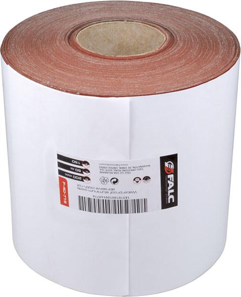 Шлифовальная шкурка на тканевой основе, P120, рулон 200ммx50м Miol F-40-715