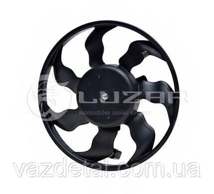 Вентилятор радиатора электрический приора 2170 с конд. HALLA (Luzar)