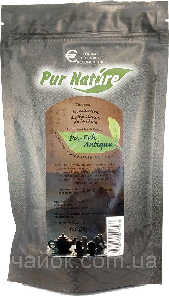 Чай Pur Nature черный ПУЭР листовой 100 гр