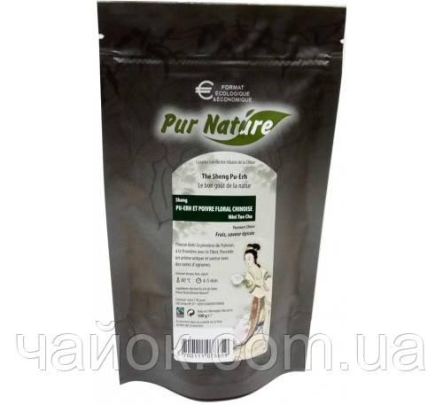 """Чай Pur Nature """"Изумрудная улитка с османтусом"""" 100 гр"""
