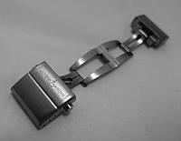 Застежка к часам Ulysse Nardin LUX сталь, мужская, стальная, анодированная