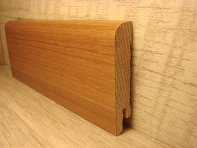 Плинтус деревянный напольный шпонированный Вяз 15*70*2400мм