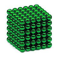 Неокуб зеленый 216 шариков Ø5мм