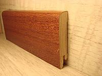 Плинтус деревянный напольный шпонированный Кумар 15*70*2400мм