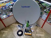 Спутниковый комплект на 1тв Tiger x100