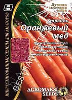 Семена моркови «Оранжевый Мед» 15 г, инкрустированные