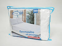 Наматрасник-простынь Leleka-textile Антивода на резинке с бортами 90*200*22